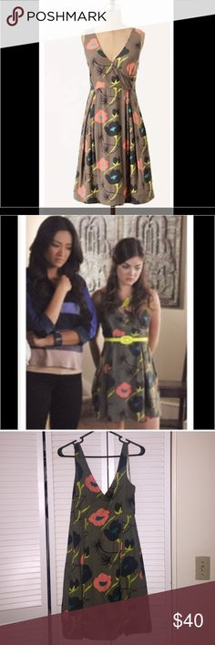 Anthropologie dress as seen on PLL! Gorgeous dress as seen on Aria on pretty little liars! Excellent condition, great dress for a party or the office with a cardigan. Anthropologie Dresses