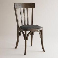 One of my favorite discoveries at WorldMarket.com: Black Rhett Dining Chairs, Set of 2