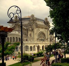 Casino-Constanta, Romania by Ana Pana on Constanta Romania, Bucharest Romania, Beautiful World, Beautiful Places, Visit Romania, Passport Travel, Barcelona Cathedral, Places To See, 1