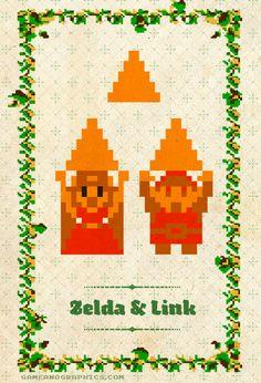 Zelda & Link gif