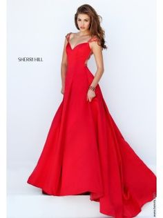 Sherri Hill 50229 dress 2016 | Find this gown and more Sherri Hill 2016 prom dresses at www.henris.com