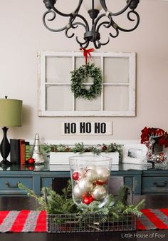 Very Merry Christmas Home Tour- Little House of Four