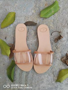 Excited to share the latest addition to my #etsy shop: Greek Sandals, Wedding Sandals, Clear Strap shoes, Slip on Sandals, Summer Flats, Leather Sandals, Women's Sandals, Leather flats, Natural L #shoes #women #greeksandals #handmadesandals #leathersandals #clearstrap #womenshoes http://etsy.me/2Dwf00o