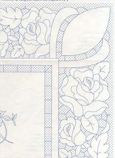 cutwork design-Lene Richelieu e Bainha Aberta: Riscos de richelieu da net