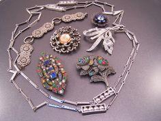 Oldies Oldies Days of Old Jewelry Destash Lot by UtterDebotury, $17.99