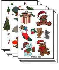 Christmas Pack of 100 sheets Temporary Tattoo >>> Be sure to check out this awesome product. (This is an affiliate link) Most Popular Tattoos, Temporary Tattoo, Poker Tattoos, Packing, Games, Toys, Holiday Decor, Contents, Fun