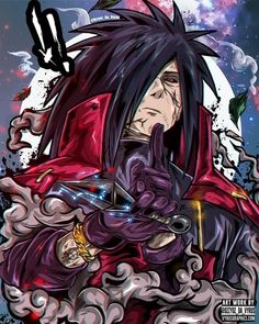 Madara (from Naruto) could represent well Yveltal in a human form un my opinion what do you think? Any other character? Naruto Shippuden Sasuke, Anime Naruto, Fan Art Naruto, Madara Susanoo, Naruto Uzumaki Art, Itachi Uchiha, Otaku Anime, Gaara, Naruto Wallpaper