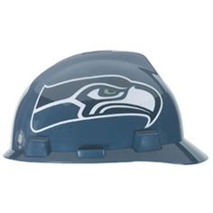 Find the MSA Safety Works Seattle Seahawks NFL Polyethylene Hard Hat  apparel offers protection from hazards on construction sites and protection  from the ... dd8dac49b