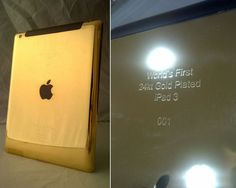 World's first gold iPad 3 debuts in Dubai