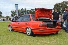 Corolla Twincam, Toyota Corolla, Tractors, Old School, Honda, Lovers, Drop, Cars, Vehicles