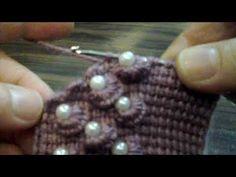 Nose part - tunus patik - Stitch Crochet, Tunisian Crochet, Bead Crochet, Cute Crochet, Crochet Lace, Crochet Stitches, Baby Knitting Patterns, Crochet Patterns For Beginners, Diy Crafts Crochet