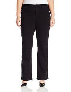 Nice NYDJ Women's Plus Size Isabella Trouser Jeans in Luxury Touch Denim