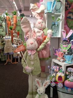 Easter Display from our Dallas Showroom @Dallas Market  Summer 2013! #burtonandburton #easter