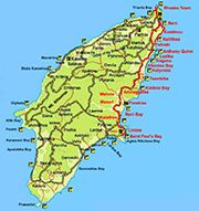 Rhodes Private Tours - Map of Rhodes Island Greece