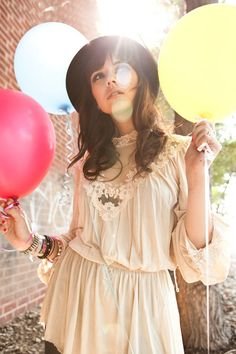 Hanna Beth LA River Photo Shoot - Balloons jennaflower's photos ...