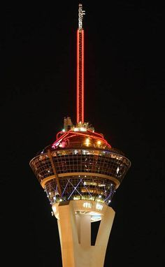 Stratosphere in Vegas - Rode the roller coaster (FRONT SEAT, FRONT CAR!!) and the Big Shot with my daughter in law. Guys were chicken. :)