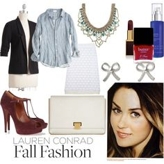 """Work Inspired LC Fall Fashion"" by fishing4beauty on @Polyvore @Lauren Conrad"