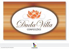 Projeto Logo aplicada (Duda Villa Confecções)