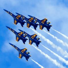 Blue Angels...the sound of Freedom just flew over my house!