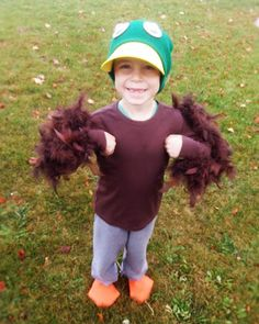 My Busy Beehives... Mallard Duck Costume for Halloween
