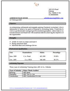 Company Resume Format A Resume Template Matter At The First Look.
