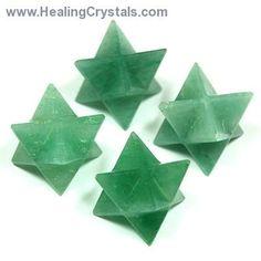 Merkaba - Green Aventurine Merkaba Star- Green Aventurine - Healing Crystals