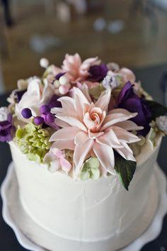 my wedding cake (red velvet)