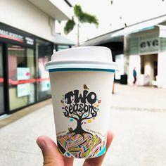 Country: 🇦🇺 Location: Gold Coast, Queensland Cafe: @twoseasonscoffee_ Take Away Coffee Cup, Coffee Cups, Gold Coast, Mugs, Country, Tableware, Instagram, Coffee Mugs, Dinnerware