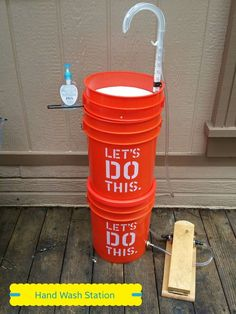 Camp Sink - Temporary Hand Washing Station | misc ...