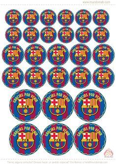 Mini Kit de Barcelona FC para cumple! Descarga gratis en www.mundomab.com  #Mundomab