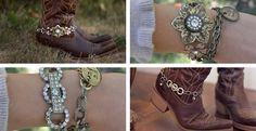 Season's Hottest Boot Bling & Bracelet | Jane