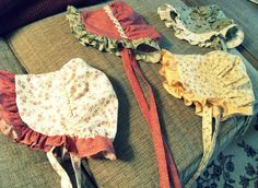 bonnets! My grandmother used to make and wear them when she worked in the garden.