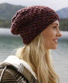 Pikes Peak Hat in Schachenmayr Boston Style -  MYM1014 - Downloadable PDF