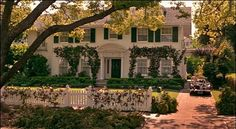 Father of the Bride House Exterior- this literally is my dream house! I love older homes like this one!