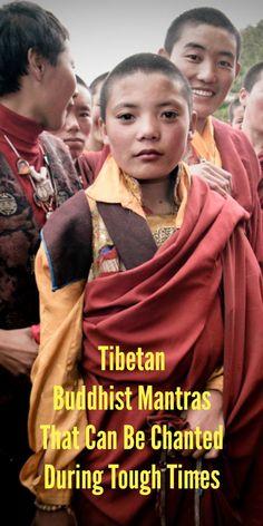 5 Tibetan Buddhist Mantras That Can Be Chanted During Tough Times Buddhist Wisdom, Buddhist Teachings, Buddhist Prayer, Buddhist Quotes, Buddha Buddhism, Buddhist Monk, Tibetan Buddhism, 5 Tibetan Rites, Tibetan Art