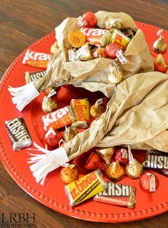 Thanksgiving Turkey Leg Goodie Bag | LITTLE RED BRICK HOUSE