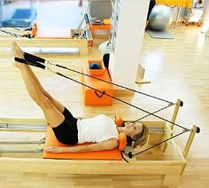 the best reformer exercise     #i-workout