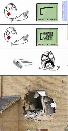 Bring back the rage meme - Witze Crazy Funny Memes, Really Funny Memes, Stupid Funny Memes, Funny Relatable Memes, Haha Funny, Rage Comics, Funny Comics, Nokia Meme, Rage Meme
