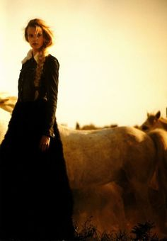 Fashion and horses, biggest advertising trend of 2011.