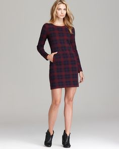 MARC BY MARC JACOBS Dress - Maya Plaid Jacquard | Bloomingdale's - $348.00