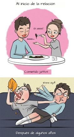 New Funny Couple Memes Humor Relationships Ideas Cute Couple Comics, Couples Comics, Cute Comics, Funny Comics, Cute Couple Memes, Couple Cartoon, Relationship Comics, Funny Relationship Memes, Cute Relationships