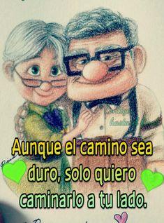 Love Romantic Poetry, Romantic Love Quotes, Love Phrases, Love Words, Husband Quotes, Love Quotes For Him, Up Pixar, Smiley Happy, Spanish Inspirational Quotes