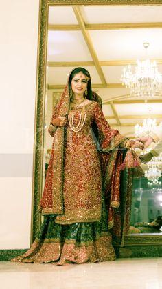 Paki bride Bridal Mehndi Dresses, Walima Dress, Designer Bridal Lehenga, Indian Bridal Lehenga, Bridal Dress Design, Bridal Lehenga Choli, Pakistani Wedding Dresses, Asian Wedding Dress, Pakistani Wedding Outfits
