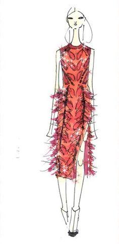 Prabal Gurung sketch