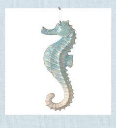 seahorse christmas ornament - Seahorse Christmas Ornament