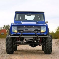 Raptor Grill on an old Bronco Jeep Truck, 4x4 Trucks, Cool Trucks, Cool Cars, Bronco Truck, Classic Bronco, Classic Ford Broncos, Classic Trucks, Old Bronco