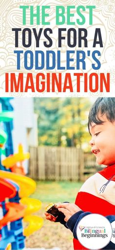 The Best Toys for A Toddler's Imagination #toddlergiftguide #preschoolgiftguide #openendedtoys #thebesttoddlertoys #thebestpreschoolertoys #educationaltoddlertoys #educationalpreschooltoys #montessoritoys #loospartsplay #playbasededucation #bilingualkids #toysforbilingualkids Diy Learning Toys, Kids Learning, Toys For Boys, Kids Toys, Baby Toys, Infant Activities, Fun Activities, Building Toys For Kids, Summer Activities For Kids