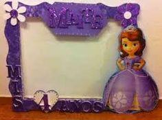 Resultado de imagen para marco de fotos de princesa sofia