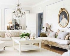White Living Room Concepts Image