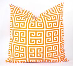 Premier Towers Geometric Decorator Pillow Cover  by StudioPillow, $20.00